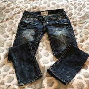 Big Star Sweet Skinny Distressed Jeans